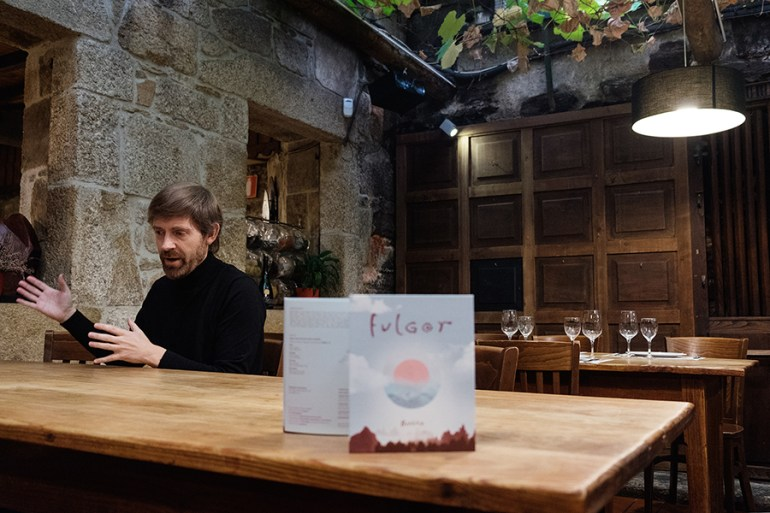 Budiño e o seu disco Fulgor. Foto: Iván Barreiro