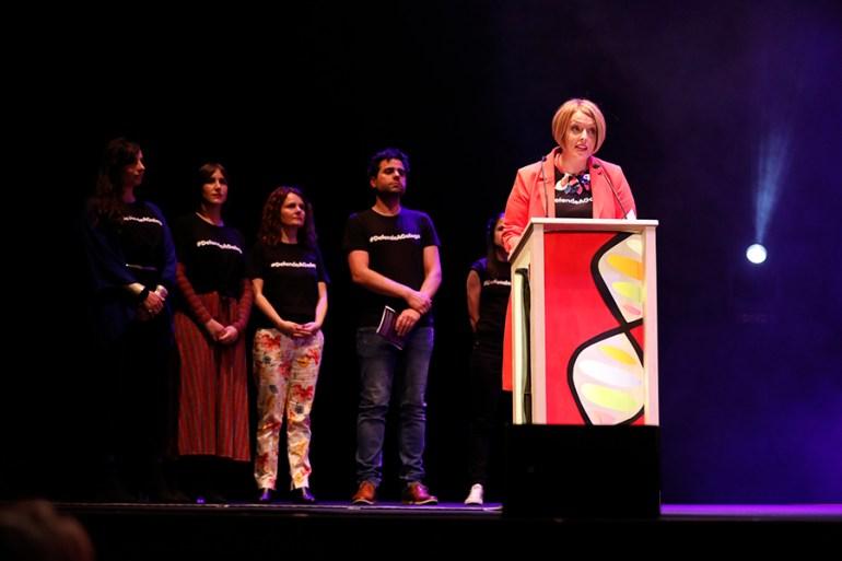 A presidenta de Músicas ao Vivo. Foto: PixelinPhoto