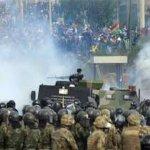 En Bolivia las elecciones reeditan el escenario de violencia del 2019.