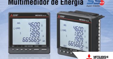 Mitsubishi Electric lança nova série de Multimedidores de Energia