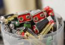 Reciclagem de pilhas e baterias
