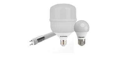 Novos modelos de lâmpadas