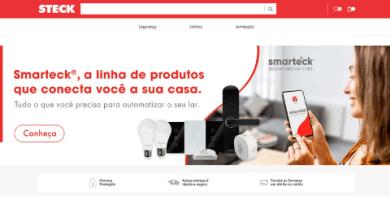 Steck lança e-commerce e amplia canais de vendas