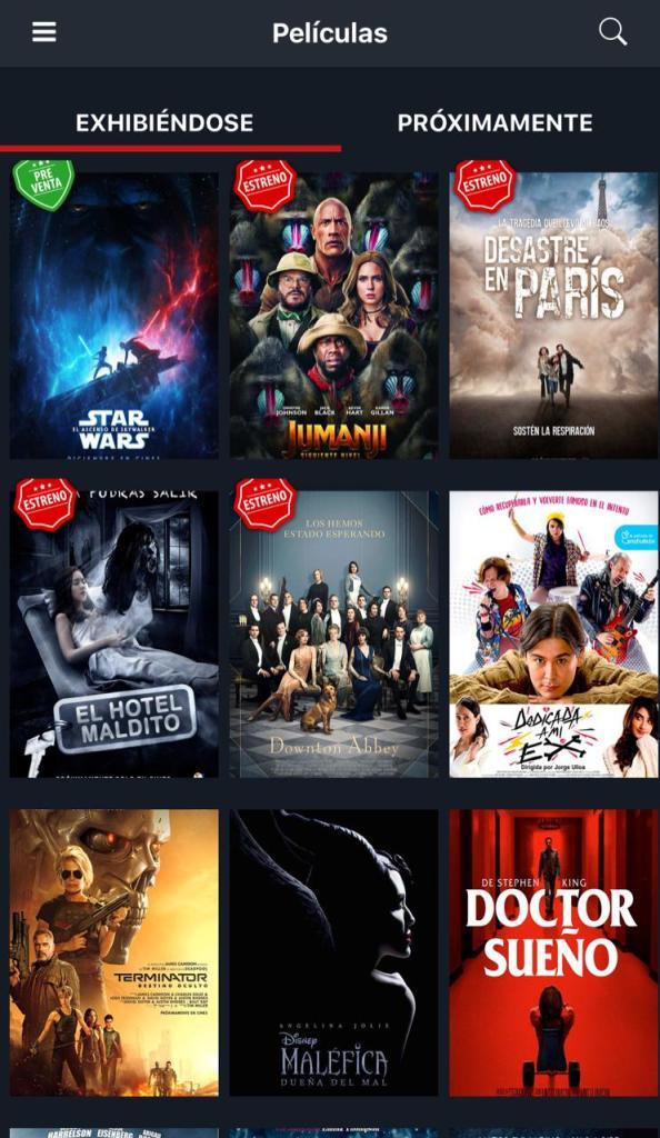 Cine Center App