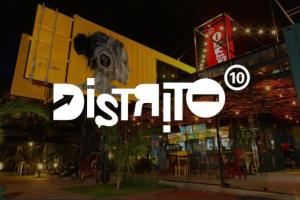 Distrito 10: innovación gastronómica entre graffitis y containers.