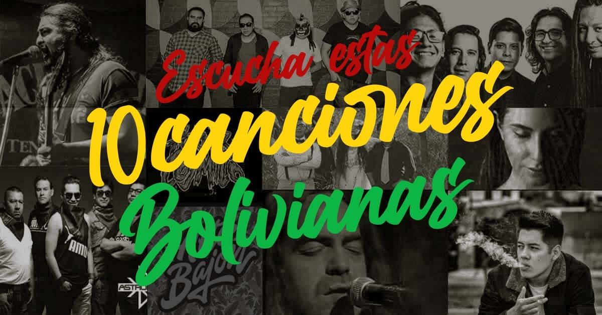 10 canciones bolivianas