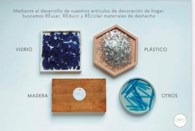 Reducir, reciclar y reusar es el obejtivo de CRĒTE