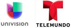 logo univision y telemundo