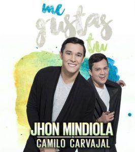 Jhon Mindiola y Camilo Carvajal Me gustas Tu