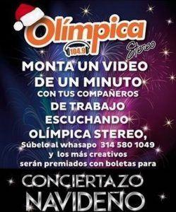 Conciertazo Olimpica 2015