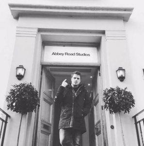 Dani Martin en Abbey Road Studios