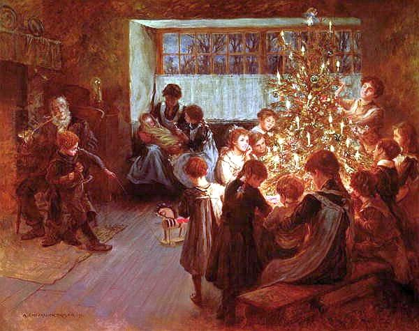Noche silenciosa, Viggo Johansen, 1891