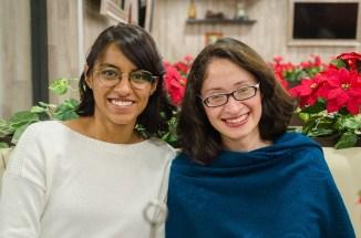 Amalinalli Armendáriz y Teresa Cortés, redactoras QUIXE Digital