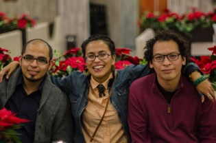 Ethan Buendía, Alejandra Arteaga y Alan Montellano