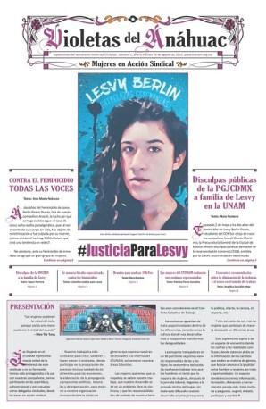8) Portada dedicada a Lesvy