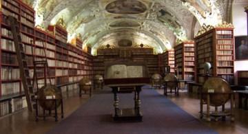 Librería del monasterio Strahov en la República Checa