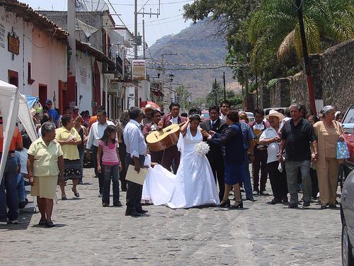Boda popular en Zacatecas.