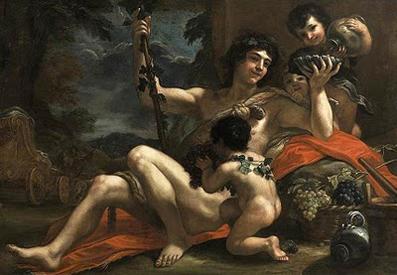 Dionisio, dios del vino.