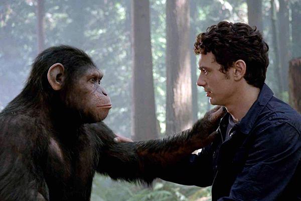 El mono y el hombre.