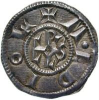 Moneda de Carlomagno, (768-814).