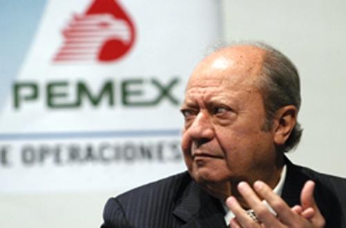 Carlos Romero Deschamps, líder del sindicato petrolero.