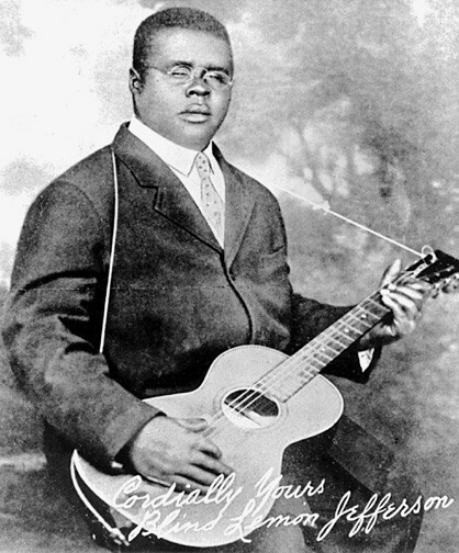 Blind Lemon Jefferson, circa1926.
