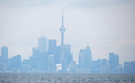 La CN Tower, en Ontario © Hugo Roca.