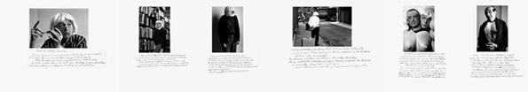 """Duane Michals, """"Who is Sidney Sherman?"""""""