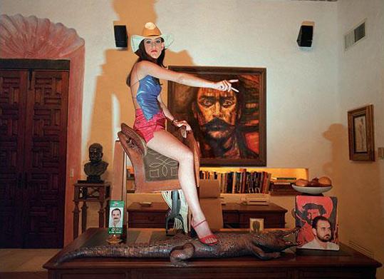 """De la serie """"Ricas y famosas"""", de Daniela Rossell."""