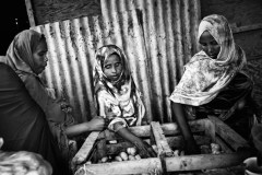 Starved For Attention © Marcus Bleasdale/VII, Djibouti.