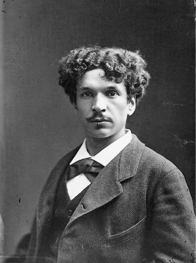 Retrato de Charles Cros hecho por Nadar en 1877.