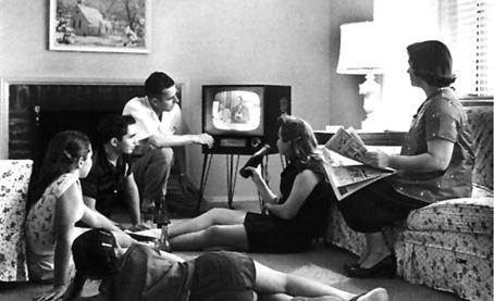 La vieja televisión del siglo XX.