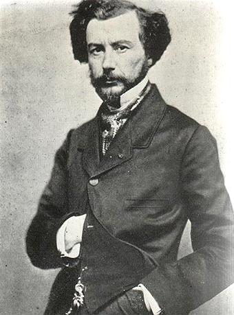 Retrato de Maxime Du Camp.