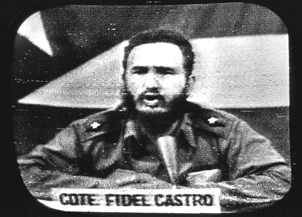 Castro le reclama a Kennedy sobre el bloqueo, 23 de octubre de 1962.