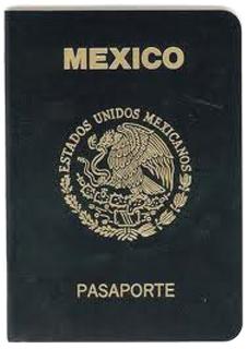 Mi pasaporte.