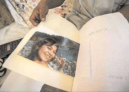 El caso de Lisbet Alejandra, investigado por posible feminicidio. Foto © Jorge Alberto Mendoza.