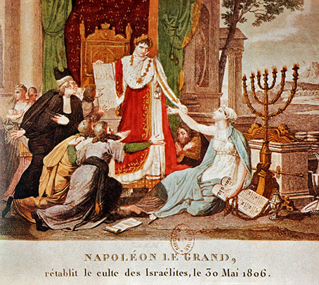 Napoleón Bonaparte decreta la emancipación de los judíos el 30 de mayo de 1806.