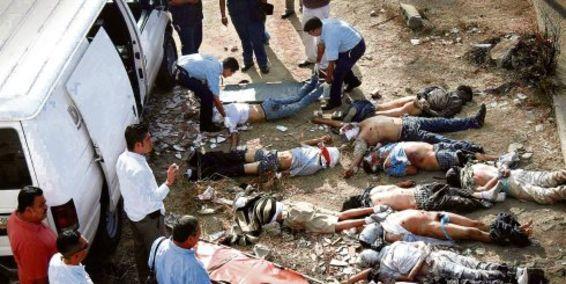 Violencia en México. Foto © columnatamaulipas.com