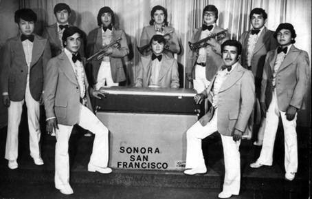 La Sonora San Francisco en 1976.