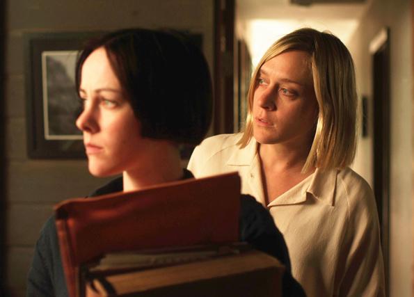 Jena Malone y Chloe Sevigny en The Wait.