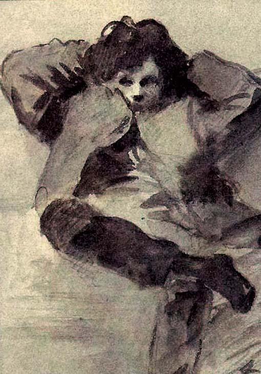 Retrato de Rimbaud, anónimo, 1872.
