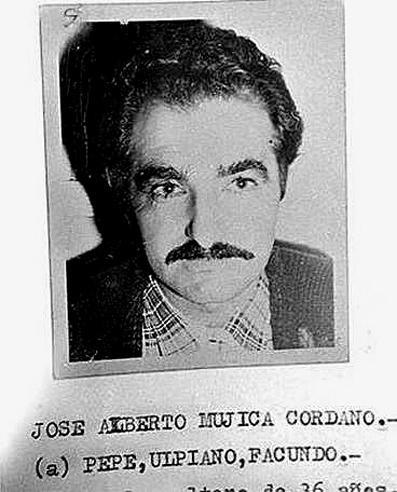 José Mujica, en su época de líder tupamaro.