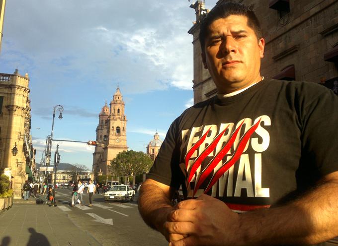 Gilberto Rangel y su homenaje al Hijo del Perro Aguayo.