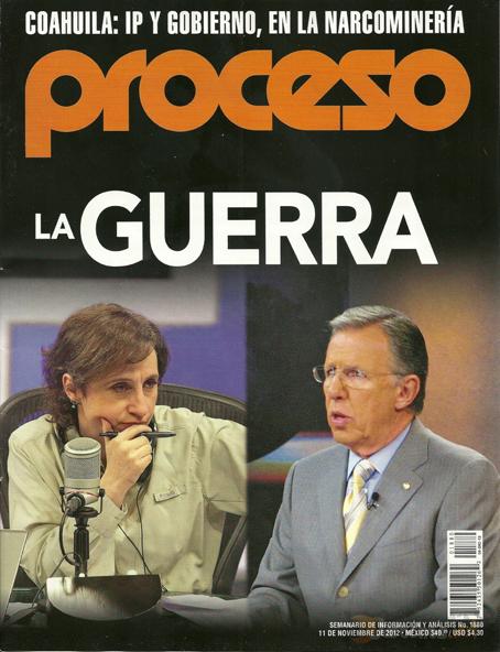 La guerra contra Televisa.