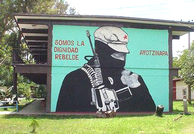 La Normal Rural de Ayotzinapa.