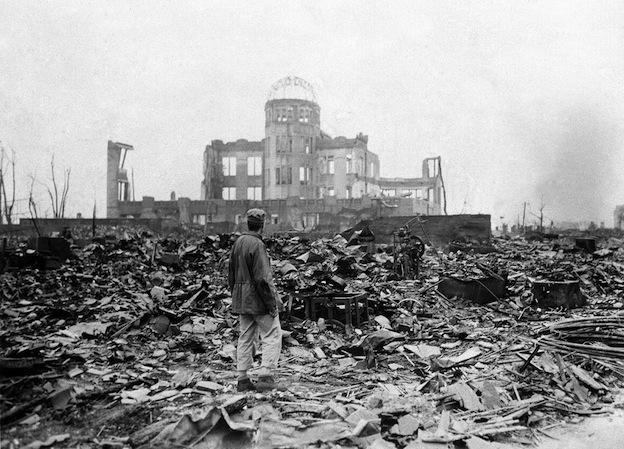 Un corresponsal de guerra en Hiroshima, septiembre de 1945.