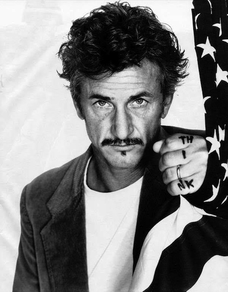 Mi name is Penn, Sean Penn.
