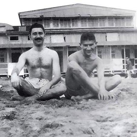 Max Brod y Franz Kafka, 1907