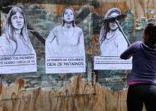 Campaña contra la violencia sexual contra las mujeres en Chile. Foto © Mariclaire.com