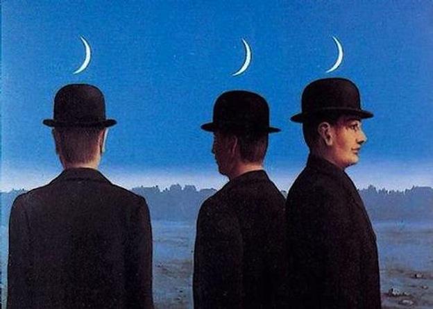 "Magritte, ""Misterios del horizonte""."